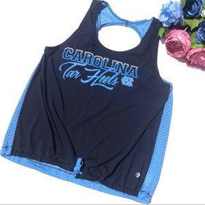 Tops - Carolina Tar Heels Workout Tank Size M Blue